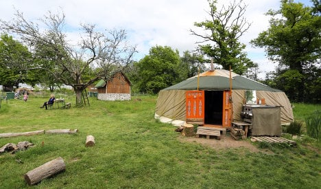 Couple illegally living in forest yurt go undetected for 4 years