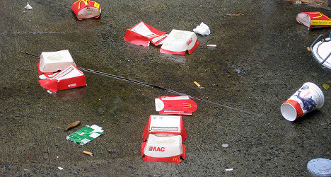 Litterbugs could face hefty fines if caught in the act