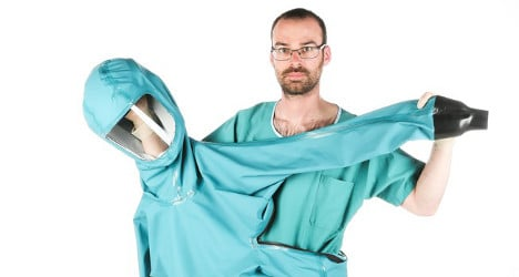 EPFL reveals new suit for healthcare workers