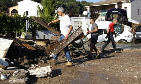 Riviera draws breath after 'apocalyptic' floods