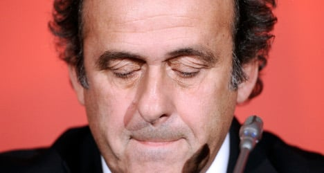 Uefa's Platini resigns after appeal rejected