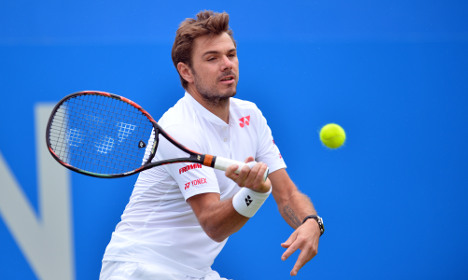 Tennis: Stan Wawrinka crashes out at Queen's