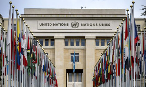 United Nations steps up security at Geneva HQ