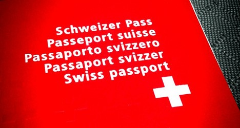 Switzerland snubs plans to strip terrorists of nationality