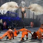The opening ceremony was directed by German theatre director Volker Hesse.Photo: Photo: Fabrice Coffrini/AFP