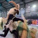 The spectacle intended to represent alpine culture.Photo: Photo: Fabrice Coffrini/AFP
