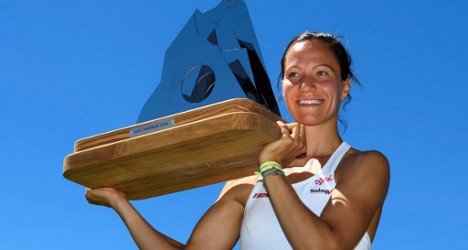 Swiss player wins first title on home soil
