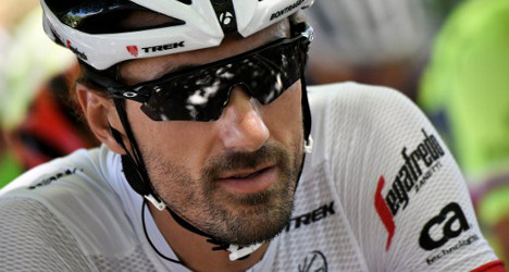 Swiss rider quits Tour to focus on Olympics
