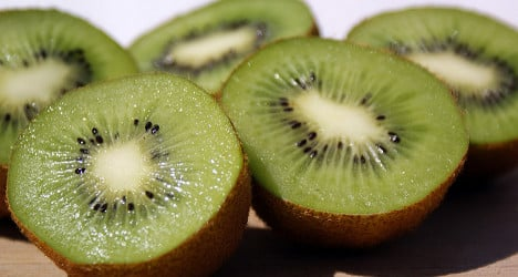 Killer kiwi plant could 'invade' Swiss forests