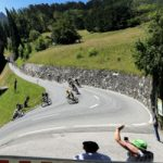 In pictures: Tour de France ends Swiss trip in 35C heat