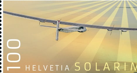 Swiss Post gives stamp of approval to Solar Impulse