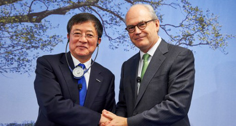 US approves Chinese mega deal with Swiss company