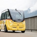Swiss driverless bus trial suspended after crash