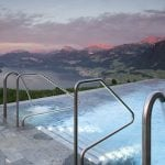 Hotel lands internet hit with outdoor pool video