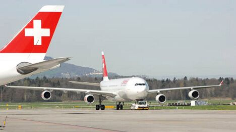 Swiss flight aborted after 'explosion' in engine