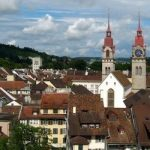 Posters appeal to save controversial Swiss mosque
