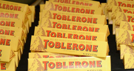 UK Toblerone fans outraged over Swiss choc's new shape