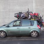 How much can you transport on the roof of a car?