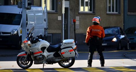 Zurich police to get 'bodycams' to tackle violence