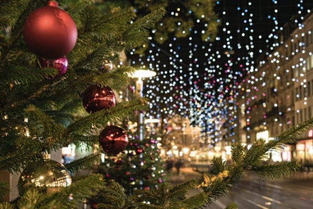 In pictures: Switzerland's fabulous Christmas lights
