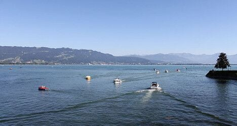Fisherman saves capsized duo from frigid Lake Constance