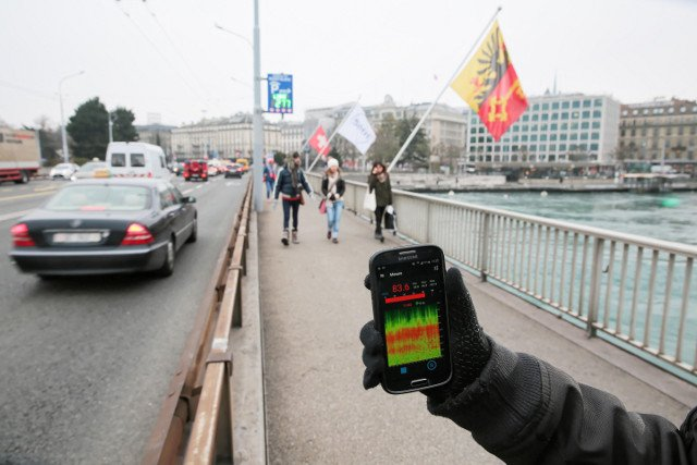 Residents of 'noisiest city in Switzerland' asked to record din