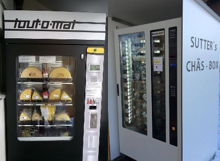 IN PICS: Welcome to Switzerland, where fondue and sausages are sold in vending machines