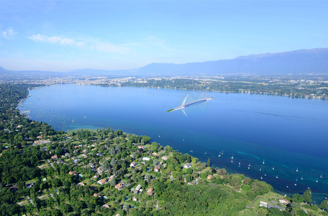Could this be the future crossing over Lake Geneva?