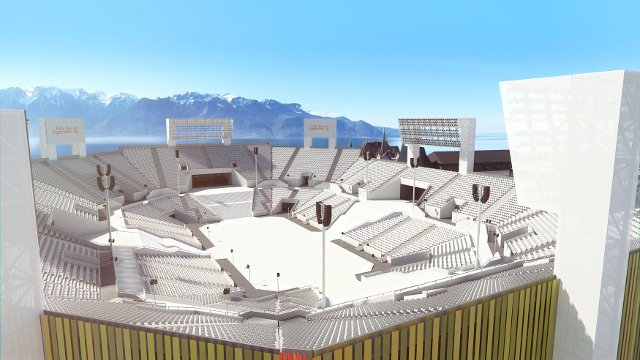 Stadium plans revealed for once-in-a-generation Swiss wine festival