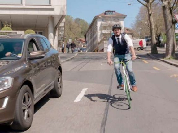 Cyclists cause almost half of all bike accidents in Switzerland