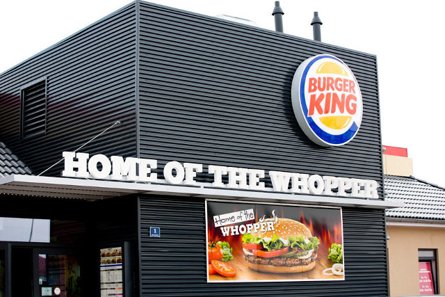 Burger King starts home delivery service in Switzerland