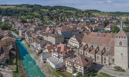 Moudon named one of Switzerland's most beautiful villages