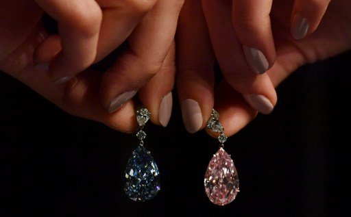 Rare diamond earrings expected to fetch millions in Geneva auction