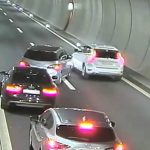 Family saved from suffocating in car on Swiss motorway