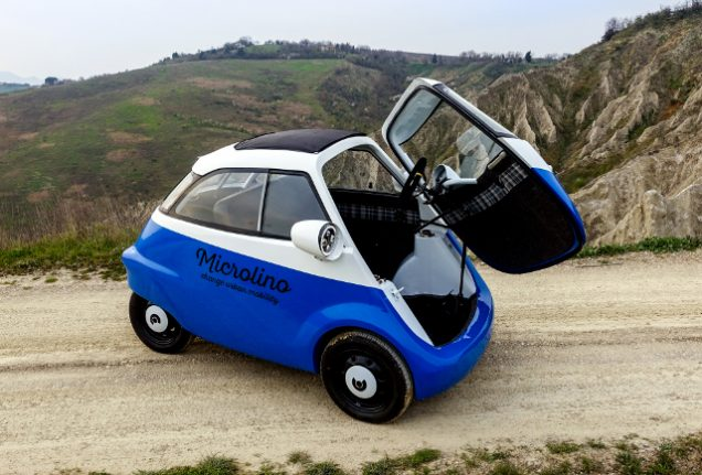 Swiss inventor creates electric vehicle inspired by 1950s 'bubble car'