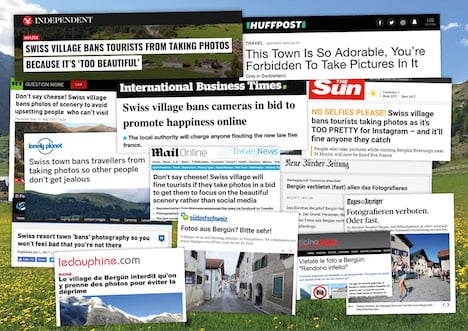 Mountain village lifts photography ban after media storm