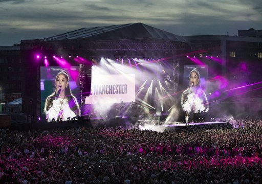 Swiss fans of Ariana Grande gather in support of Manchester victims