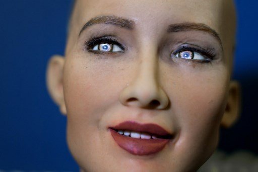 Humanoid robot is star of Geneva conference
