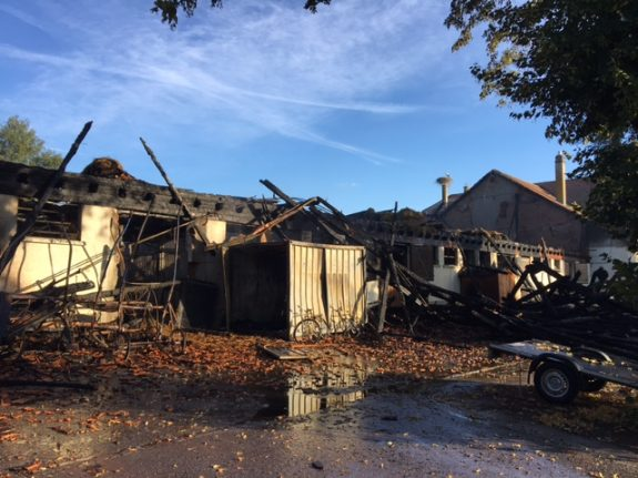 Series of fires leaves horses dead at Swiss equestrian centre