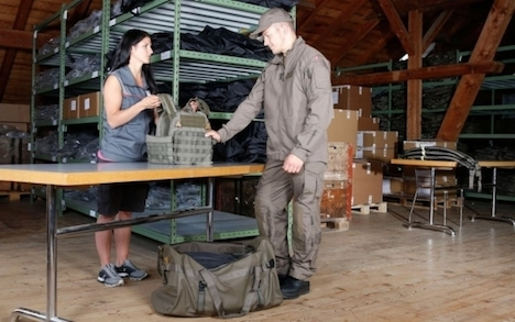 Swiss Army tests out new combat uniform