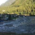 Village evacuated and climber dead in two separate Graubünden rockfalls