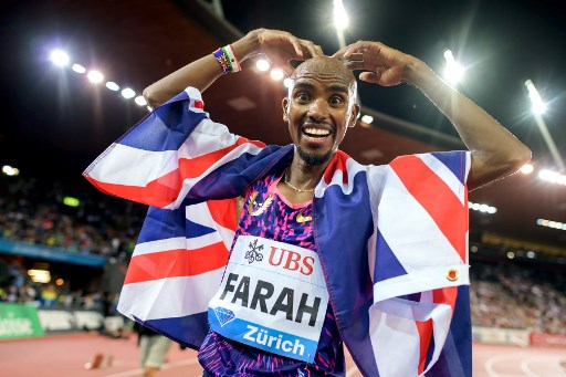 Farah ends track career with victory in Zurich