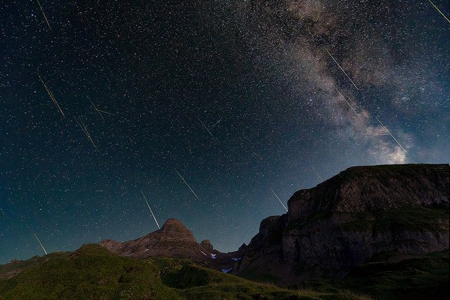 Get ready for the spectacular Perseid meteor shower in Switzerland