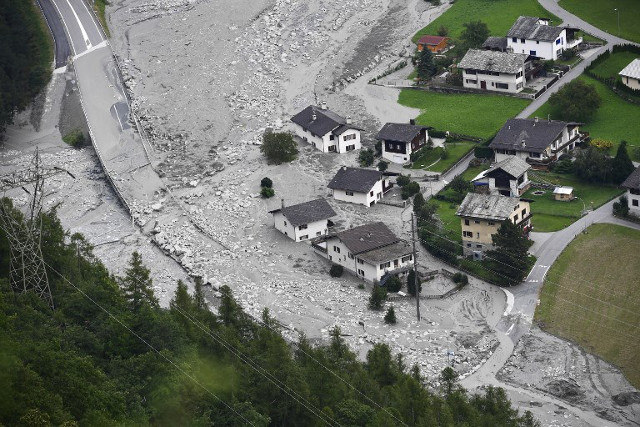 Graubünden landslide: 'No one expected this kind of catastrophe'