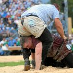 Swiss wrestling (Schwingen) is a highlight of the festival and the culmination of the season's competition. Photo: Photo: Andy Mettler/Swiss-image.ch