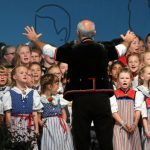 Youth Day included music, song and dance by children of the local area. Photo: Photo: Andy Mettler/Swiss-image.ch