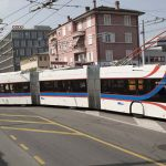 Lausanne takes Lucerne's lead by testing out extra-long bendy buses