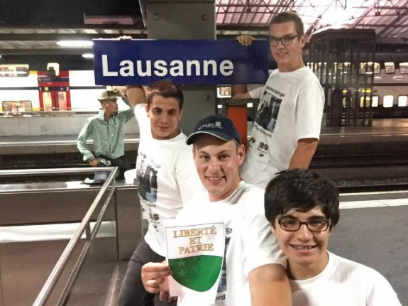 Record-breaking friends visit all 26 Swiss cantons in 17 hours