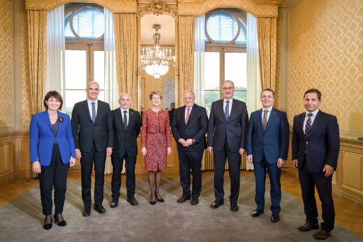 New federal councillor Cassis inherits foreign ministry