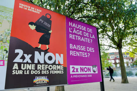 Swiss vote on plan to save pensions